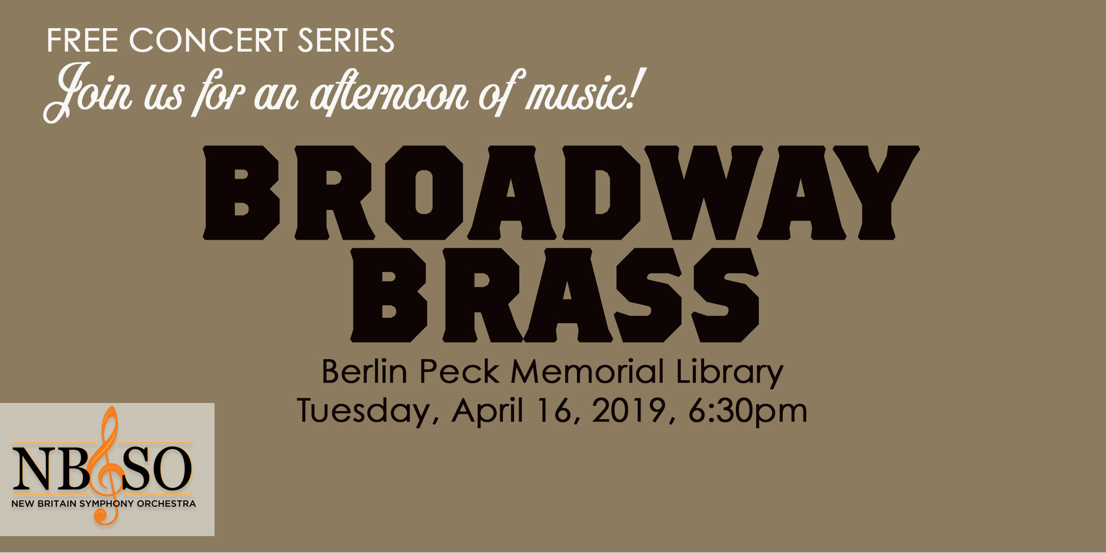Broadway Brass Free Concert